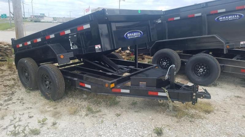 2019 Maxwell DC Bumper pull  Dump Trailer