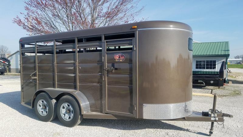 2021 Maxwell BrushPopper Livestock Trailer