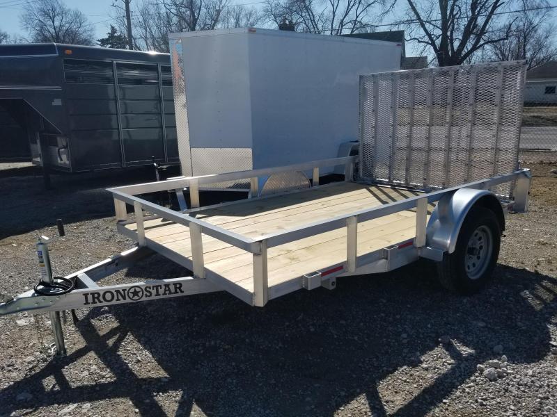 2020 Maxwell Aluminum Railed Utility Utility Trailer