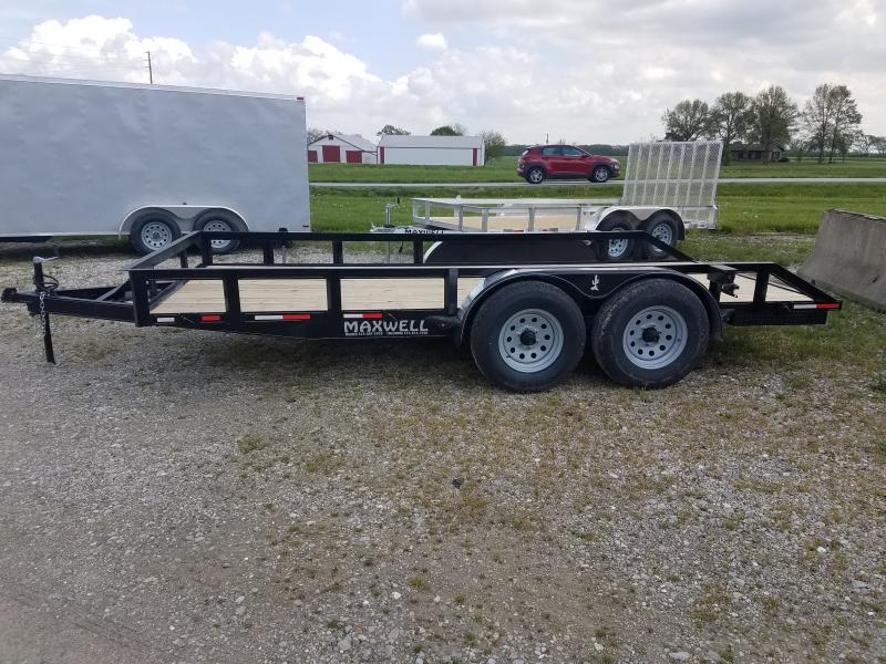 2021 Maxwell 83x16 Deluxe Utility Trailer
