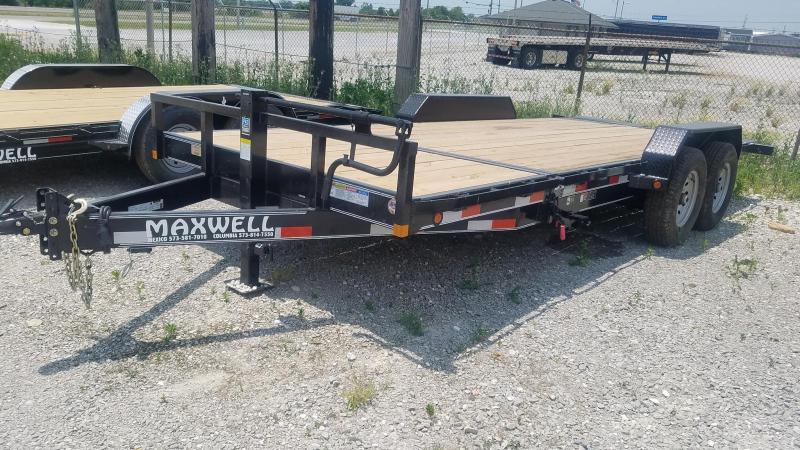 2021 Maxwell DC Tilt Equipment Trailer***
