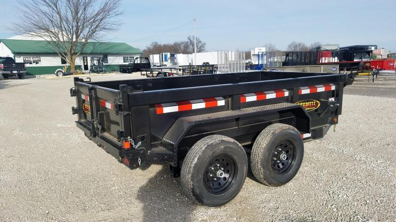 "2021 Maxwell 60""X10' Heavy Duty Dump Trailer"
