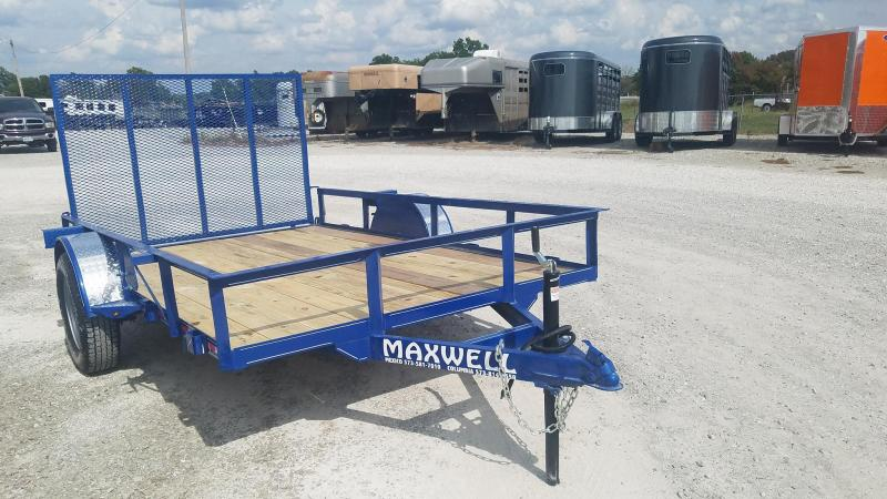 2021 Maxwell SA Railed Utility Trailer