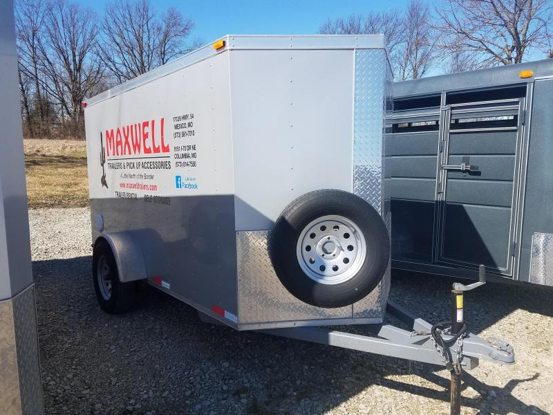 2018 Maxwell 6X10 Enclosed Cargo Trailer