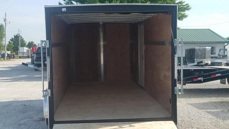 2020 H and H Trailer Tandem V nose Enclosed Cargo Trailer