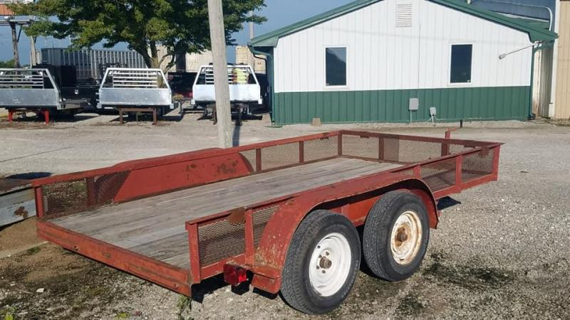 2002  Jerry James Utility Trailer