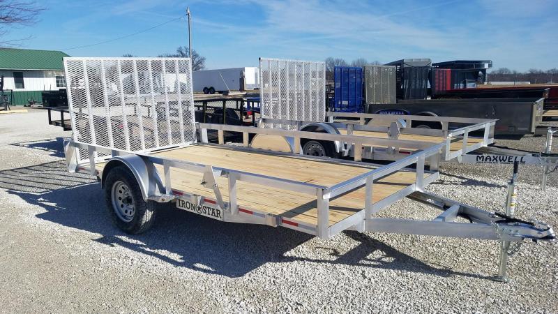2021 Iron Star Maxwell SA Aluminum Utility Trailer*