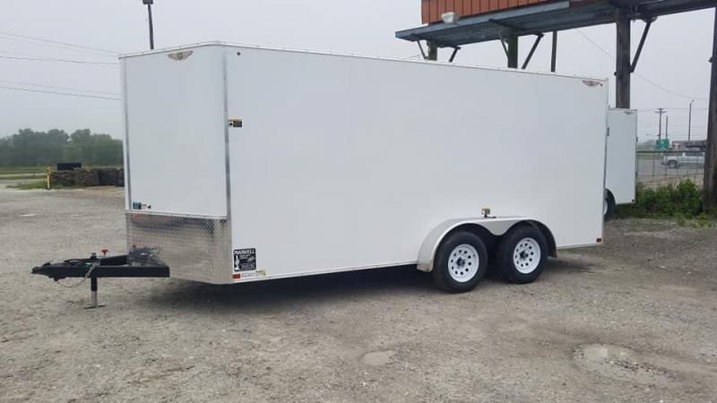 2021 H and H Trailer H8416TFTV-070 Enclosed Cargo Trailer
