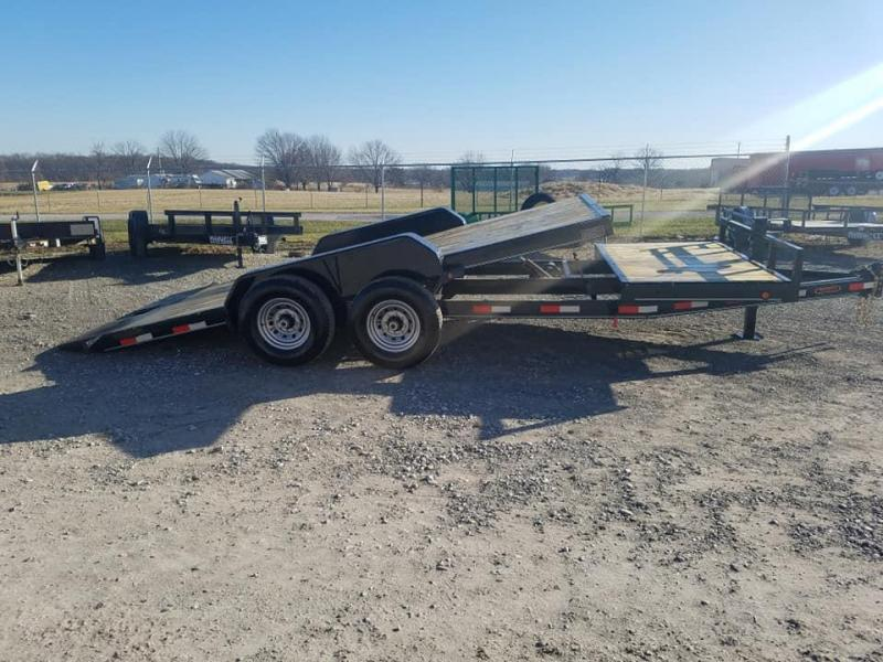 2020 Delco Trailers tilt flatbed Equipment Trailer