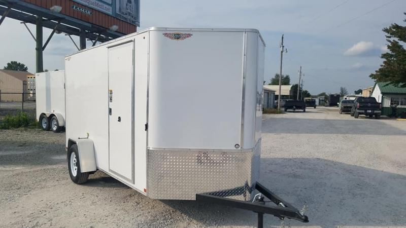 2021 H and H Trailer SA V nose Enclosed Cargo Trailer