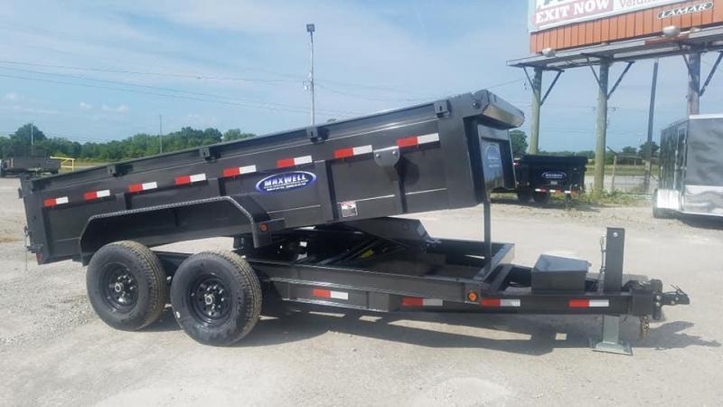 2020 Maxwell /Delco TA Bumper Pull Dump Trailer