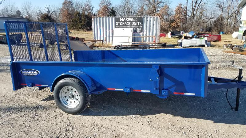 "2021 Maxwell 83""x12' Solid Side Utility Trailer *"