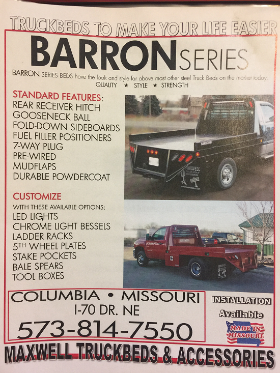 Iron Star Barron Series Truck Beds