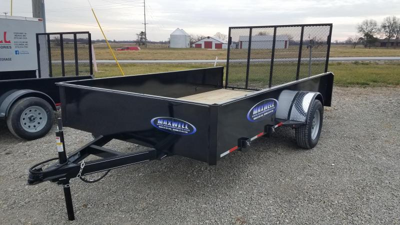 "2021 Maxwell 83""X12' Solid Side Utility Trailer"