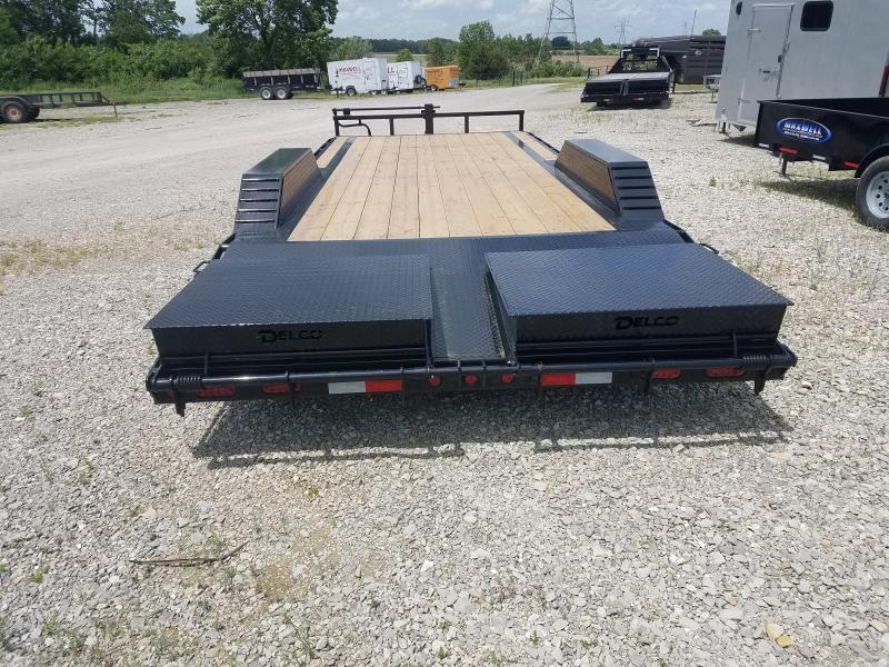 "2021 Delco Trailers 102""X22' Equipment Trailer *"