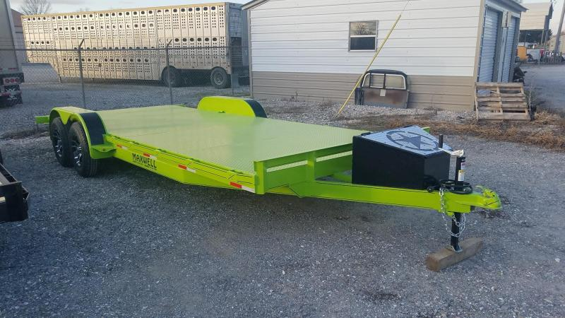2021 Maxwell Flatbed Car / Racing Trailer*