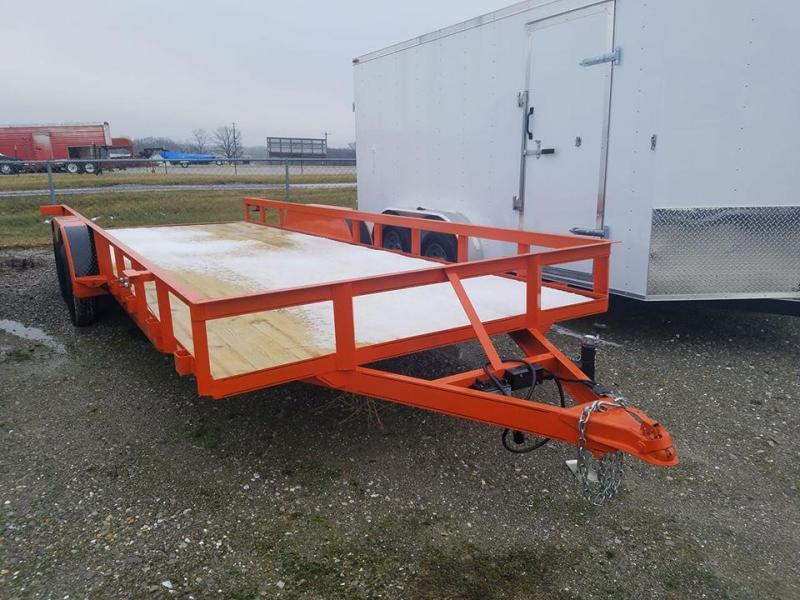 2020 Maxwell TA Deluxe Utility Trailer