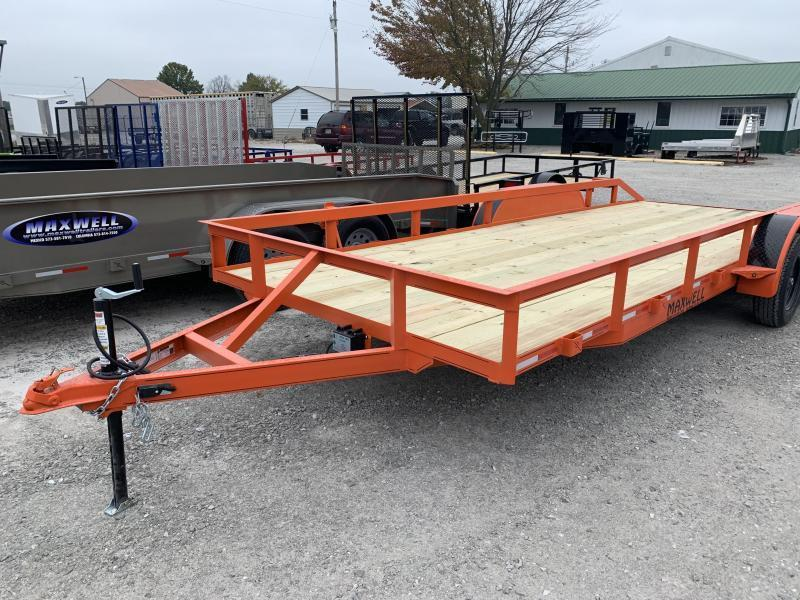 2021 Maxwell RAILED UTILITY Utility Trailer