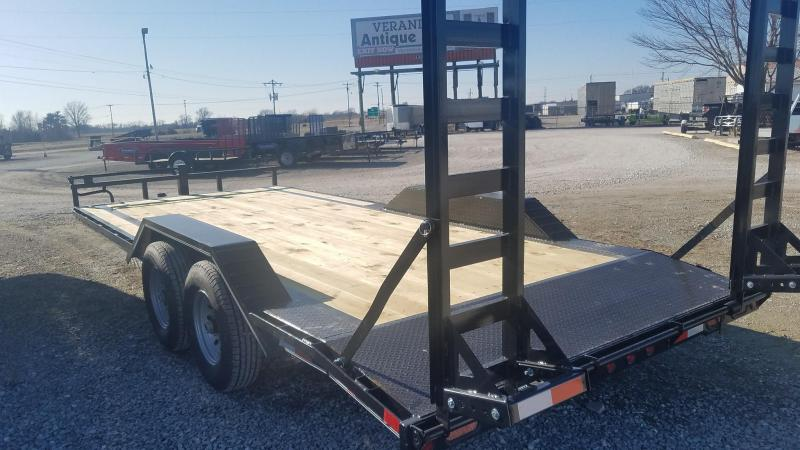 2021 Delco Trailers Maxwell Flatbed Equipment Trailer