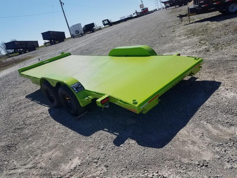 2021 Maxwell 83X18 Steel Floor Car / Racing Trailer
