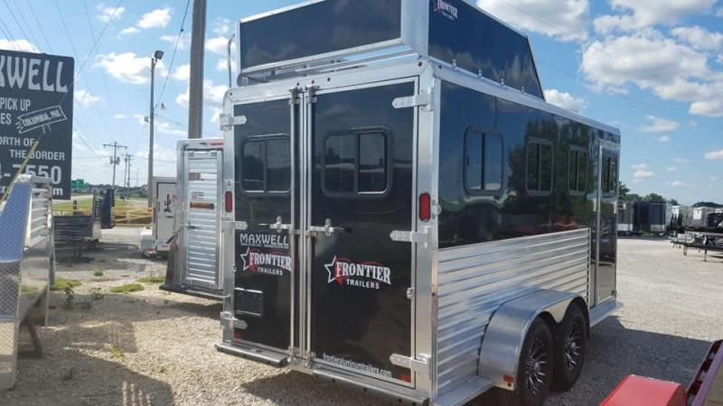2019 Frontier All Aluminum BP 3 Horse Trailer