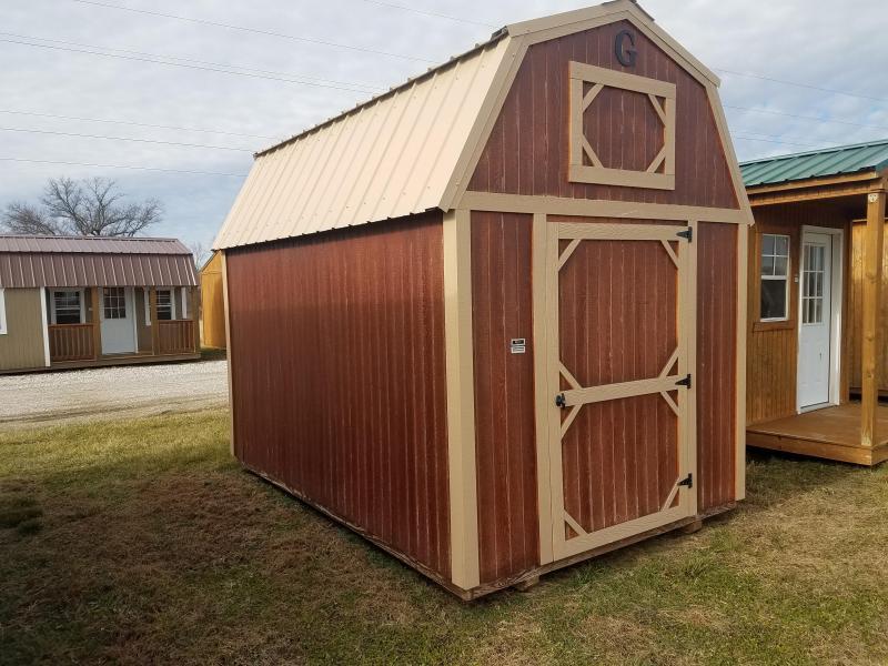 2017 Graceland Portable Buildings 8X12 Lofted Barn