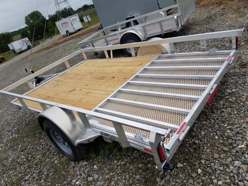 2021 Maxwell 83x12 Aluminum Utility Trailer