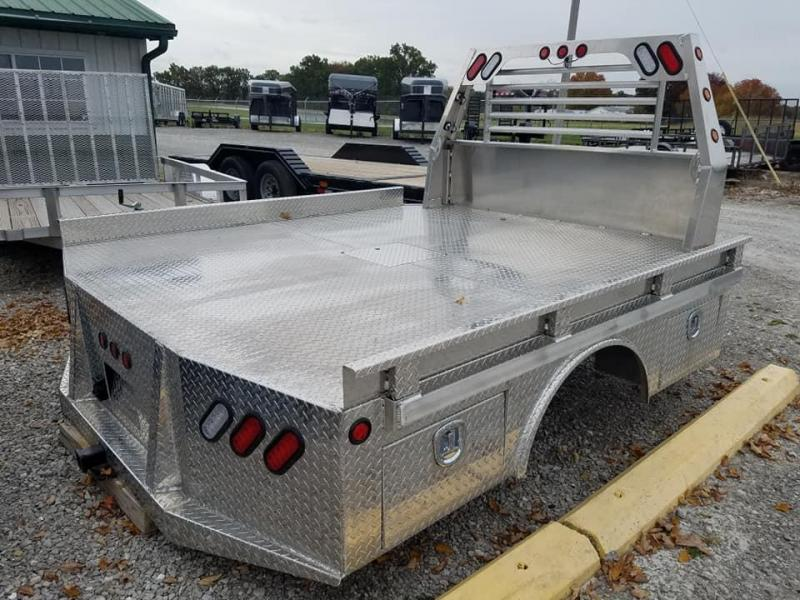 2019 Maxwell Aluminum Barron 4 Box Skirted Truck Bed