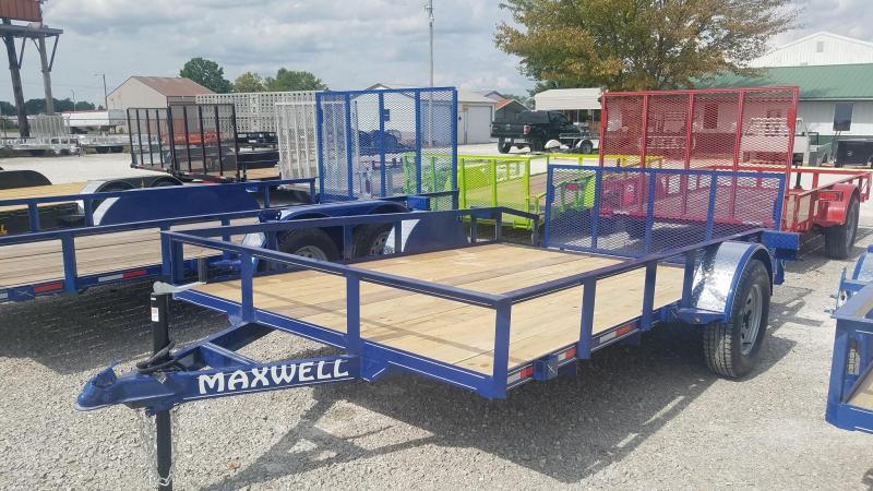 2022 Maxwell SA Railed Utility Trailer