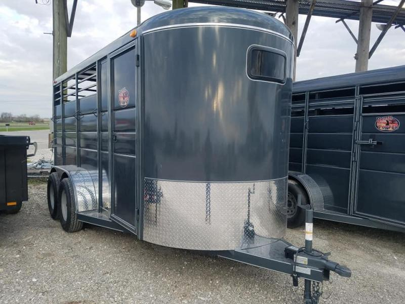 2020 Maxwell BrushPopper Horse Trailer