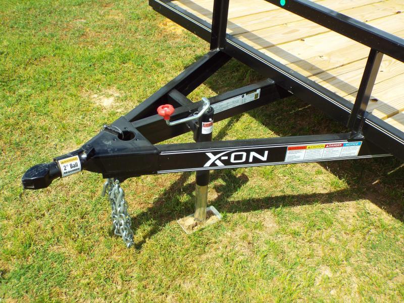 "2020 X-On 83"" X 14' Single Axle 3K (A-SA831413) Utility Trailer"