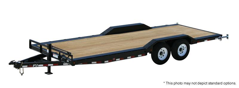 "2021 PJ Trailers 22' x 6"" Channel Super-Wide Trailer"
