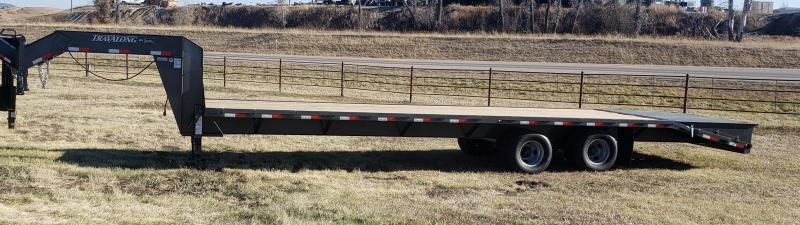 2021 Travalong FLATBED GN 31' 2/10K Flatbed Trailer