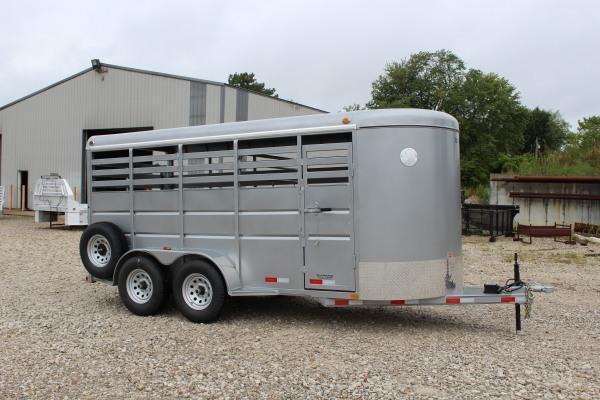 2021 Delco Trailers 6 x 16 Livestock Trailer