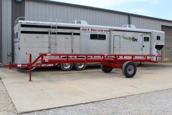 2020 Hayliner 22' Hay Liner Bale Trailer Other Trailer