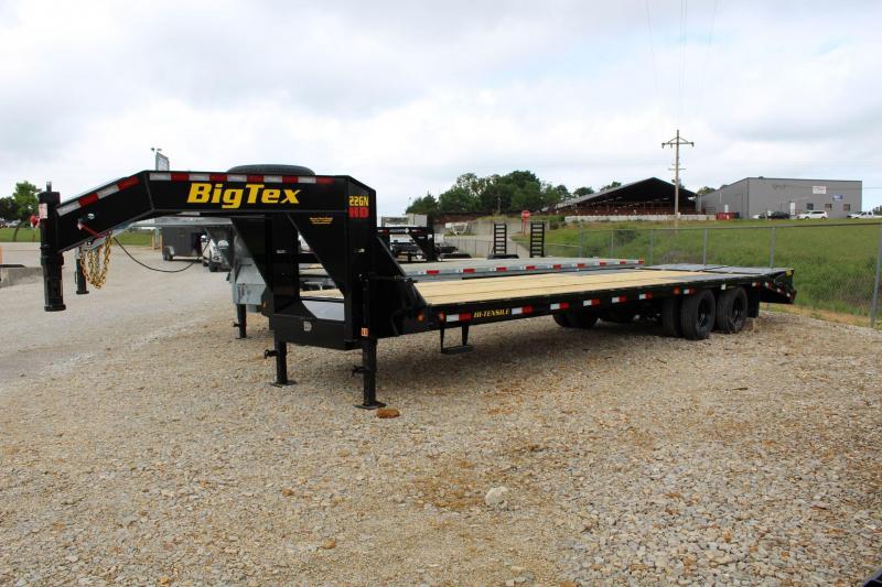 2022 Big Tex Trailers 22GN-25+5 Flatbed Trailer