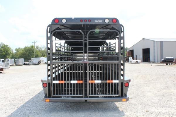 2021 Delco Trailers 6'8 x 24' Livestock Trailer