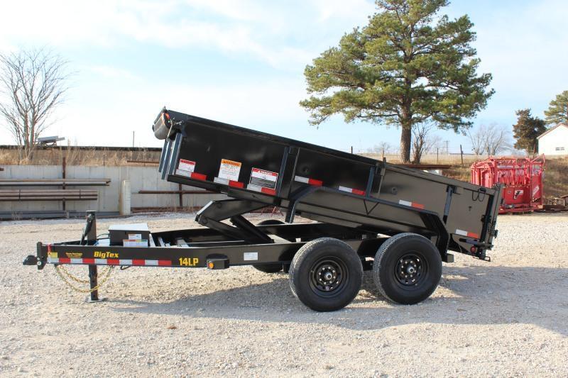 2021 Big Tex Trailers 14LP-12BK6SIRPD Dump Trailer