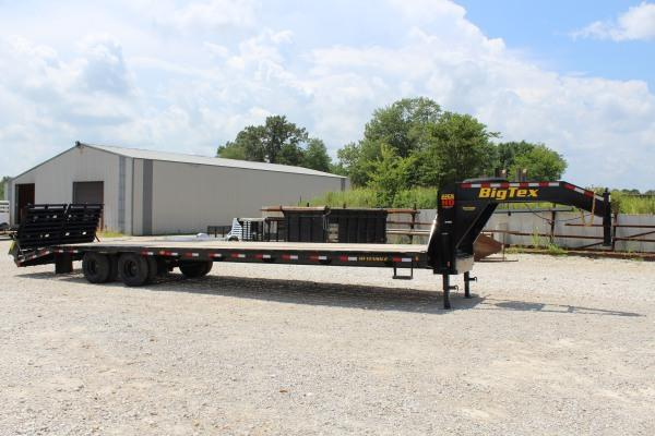 2021 Big Tex Trailers 22GN-30+5 Equipment Trailer