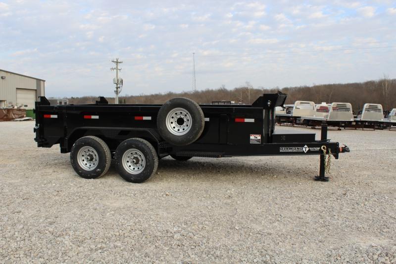2021 Diamond T Trailers DMP-B148314 Dump Trailer