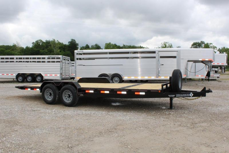 2021 Diamond T Trailers 8320SKP140-6 Equipment Trailer
