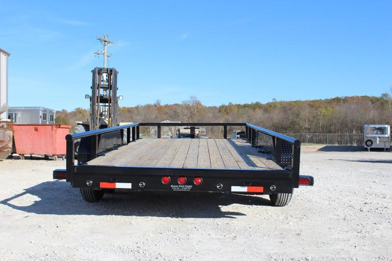 2021 Norstar ETBP 16' Equipment Trailer