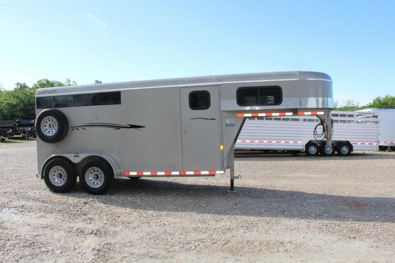2017 Delta Manufacturing 2 Horse Trailer