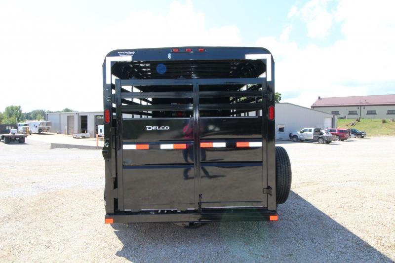 2021 Delco Trailers S816J62RK Livestock Trailer