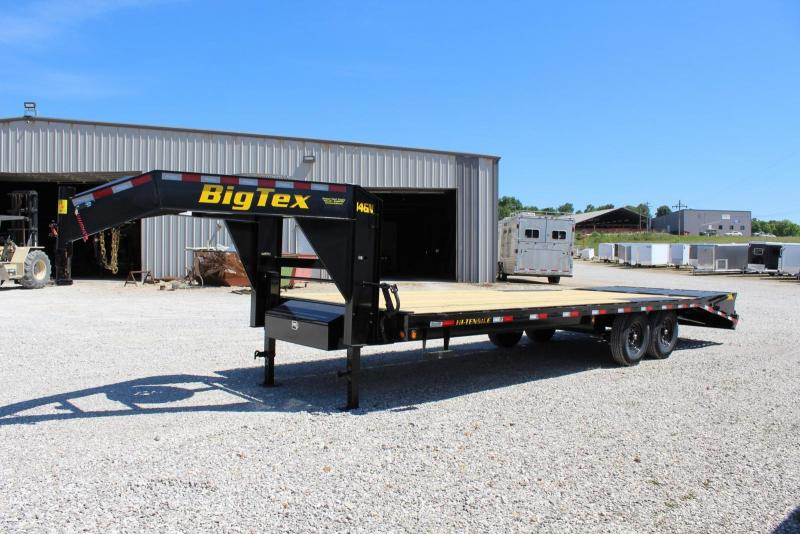 Big Tex Trailers 14GN-20+5 Flatbed Trailer