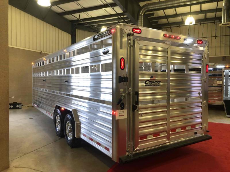2021 Cimarron Trailers Lonestar Livestock Trailer