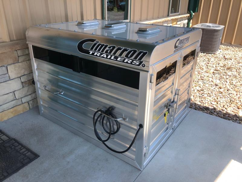 2021 Cimarron Trailers Stock Box Truck Boxes (Livestock and Dog)