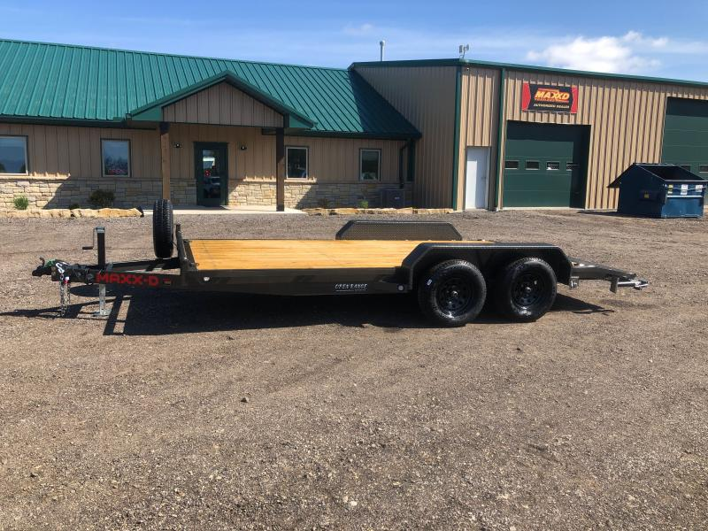 2021 MAXXD C4X Equipment Trailer