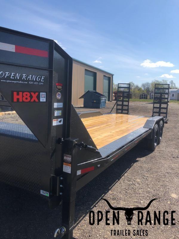 2021 MAXXD H8X Equipment Trailer