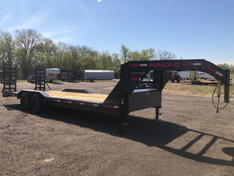 2021 MAXXD H8X Equipment Trailer